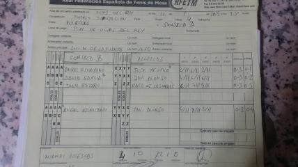 ACTAS TORNEO DIPUTACIÓN 13