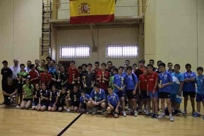 CAMPEONATO REGIONAL DE TENIS DE MESA DE CASTILLA-LA MANCHA POR CATEGORÍAS 2014 (OCAÑA,14 DE JUNIO)