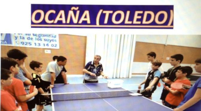CLINIC TENIS DE MESA OCAÑA (TOLEDO)