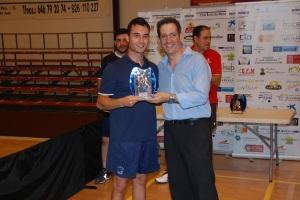 Sergio-entrega de trofeos