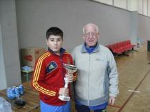 campeón juvenil Mario López
