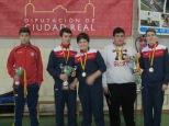 Podium equipos cadete masculino