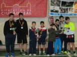 Podium equipos infantil masculino