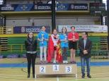 Alevín femenino podium