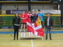 Alevín masculino podium(1)