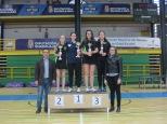 Cadete femenino podium