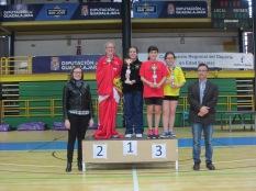 Infantil femenino podium