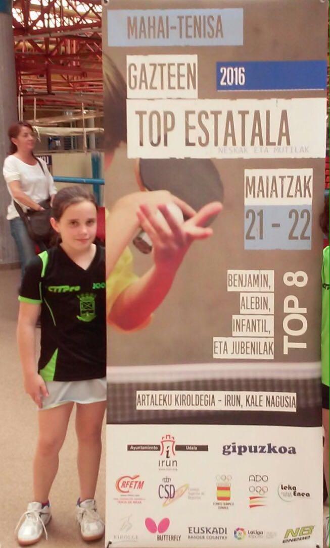 2 CASTELLANO MANCHEGOS EN EL TOP ESTATAL . IRUN 21/22 MAYO