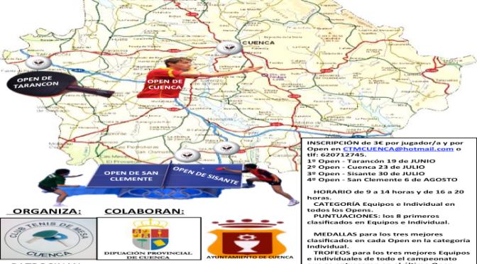 CAMPEONATO DE TENIS DE MESA DIPUTACION DE CUENCA.