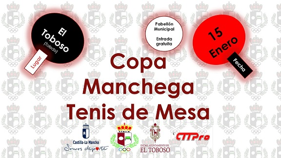 COPA MANCHEGA TENIS DE MESA.