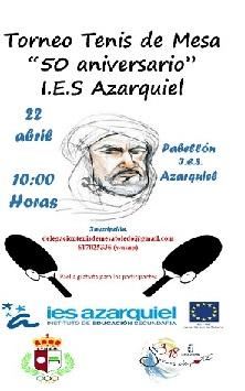 TORNEO TENIS DE MESA I.E.S. AZARQUIEL