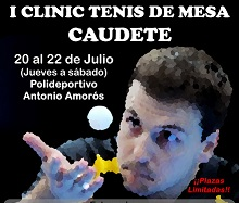 I CLINIC TENIS DE MESA CAUDETE