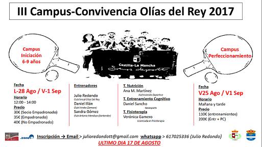 XIII CAMPUS-CONVIVENCIA OLÍAS DEL REY (TOLEDO)