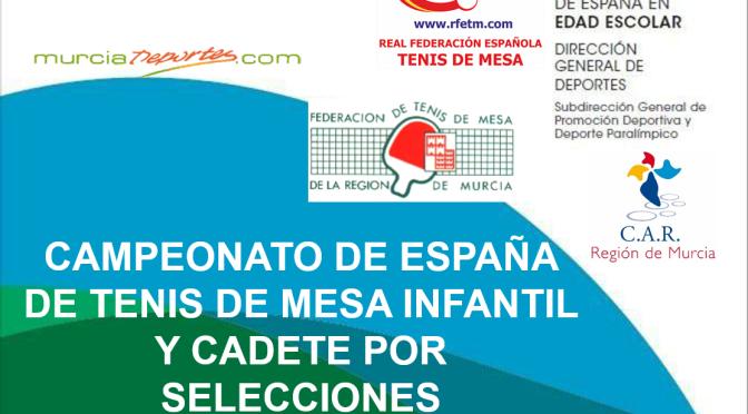 CAMPEONATO DE ESPAÑA EN EDAD ESCOLAR 2018