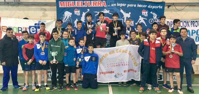 2ª FASE FINAL del CAMPEONATO PROVINCIAL ESCOLAR 2018 Ciudad Real