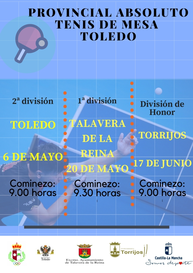 CAMPEONATO PROVINCIAL TALAVERA DE LA REINA – 1ª DIVISIÓN