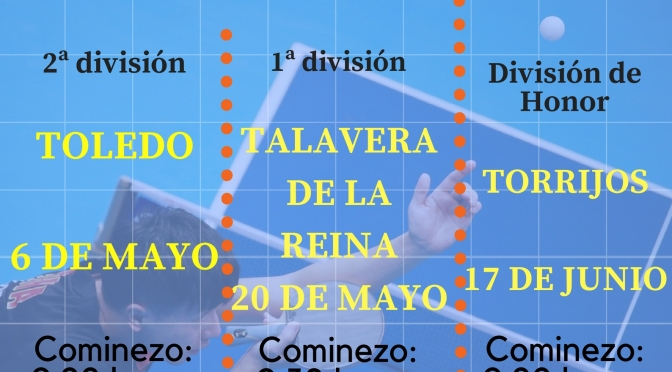 CAMPEONATO PROVINCIAL TOLEDO – DIVISION HONOR