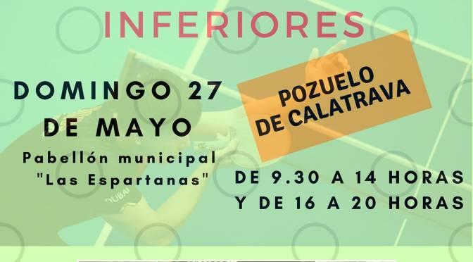 CAMPEONATO REGIONAL CATEGORIAS INFERIORES 2018 – Resultados