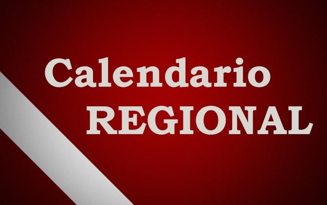 Calendario Regional 2018-2019
