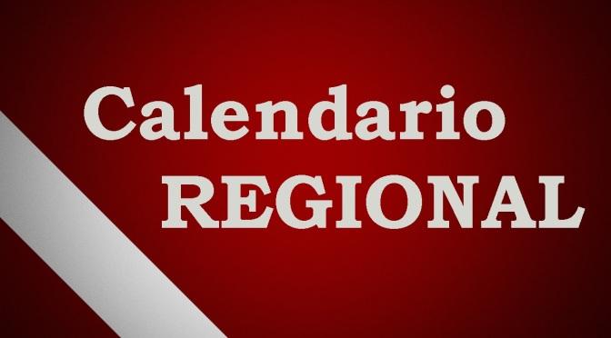 CALENDARIO REGIONAL 2019-2020