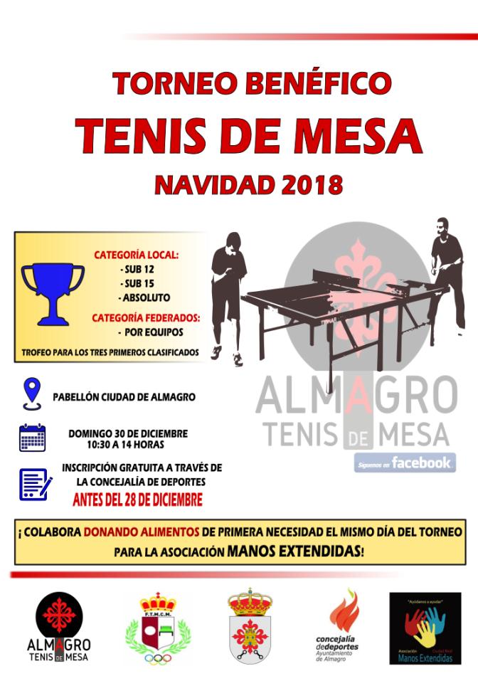 TORNEO BENEFICO NAVIDAD – ALMAGRO 2018