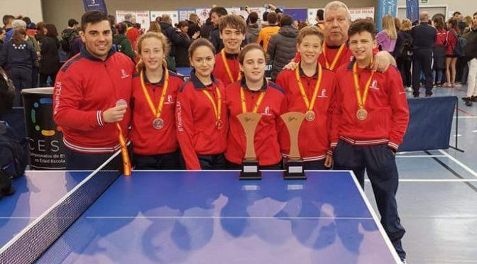 Campeonato de ESPAÑA en EDAD ESCOLAR – 2019. DOS BRONCES!!!