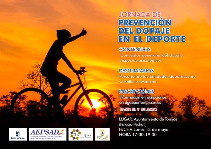 Jornada de PREVENCIÓN DEL DOPAJE EN EL DEPORTE