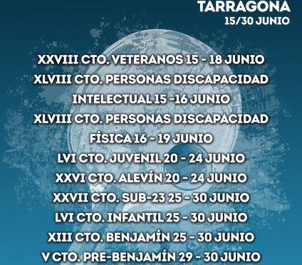 Crónica CAMPEONATOS DE ESPAÑA TARRAGONA 2019