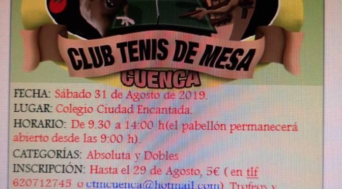Torneo Fiestas de SAN JULIÁN 2019