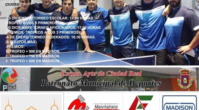 Torneo NAVIDAD CDTM Ciudad Real