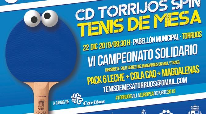 VI CAMPEONATO SOLIDARIO CD SPIN TORRIJOS