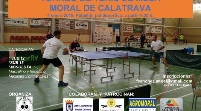 Torneo MORAL de CALATRAVA 2020