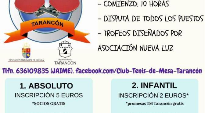 IX Torneo INVIERNO TM TARANCON
